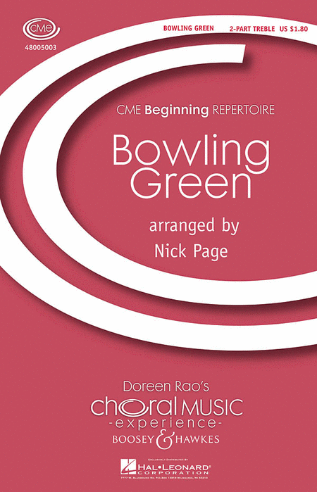 Bowling Green : 2-Part : Nick Page : Sheet Music : 48005003 : 073999050035