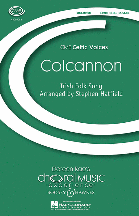 Colcannon : SSA : Stephen Hatfield : Sheet Music : 48005082 : 073999753691