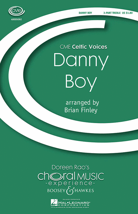 Danny Boy : SSA : Brian Finley : Sheet Music : 48005092 : 073999650198
