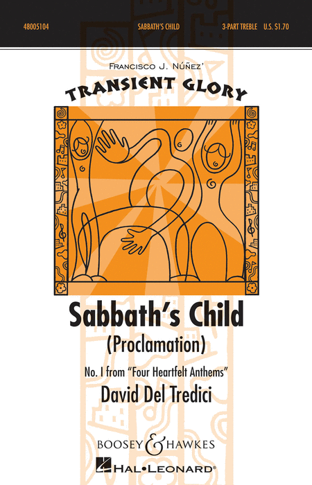 Sabbath's Child : SAB : Francisco J. Nunez : Sheet Music : 48005104 : 073999051049