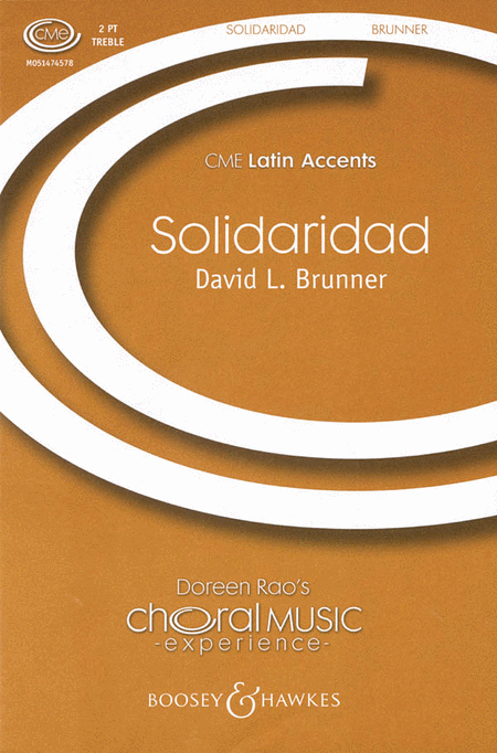 Solidaridad : 2-Part : David L. Brunner : Sheet Music : 48005125 : 073999716450