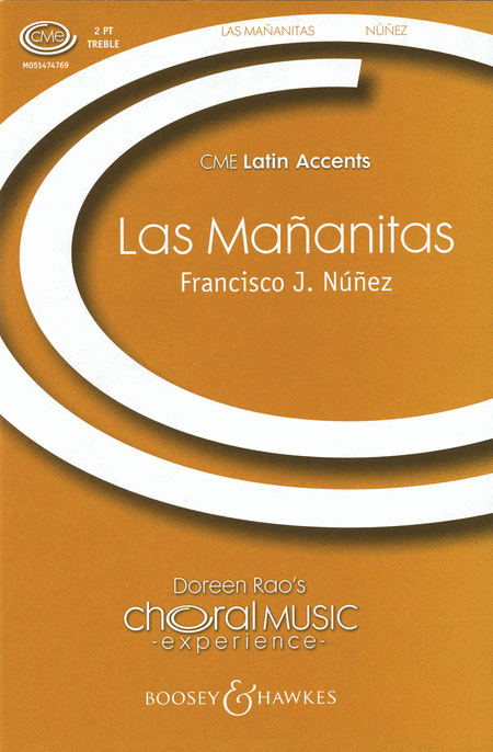 Las Mananitas : 2-Part : Francisco J. Nunez : Sheet Music : 48005143 : 073999238273