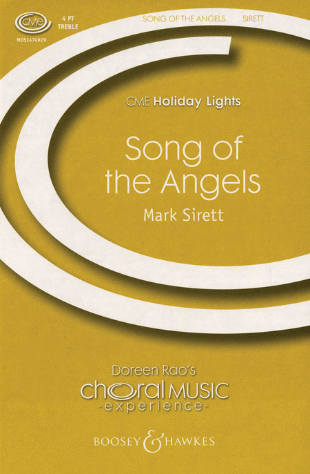 Song of The Angels : SSAA : Mark Sirett : Sheet Music : 48005158 : 073999972016