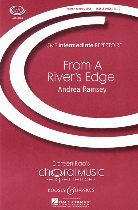 From a River's Edge : SSA : Andrea Ramsey : Andrea Ramsey : Sheet Music : 48018803 : 073999575736