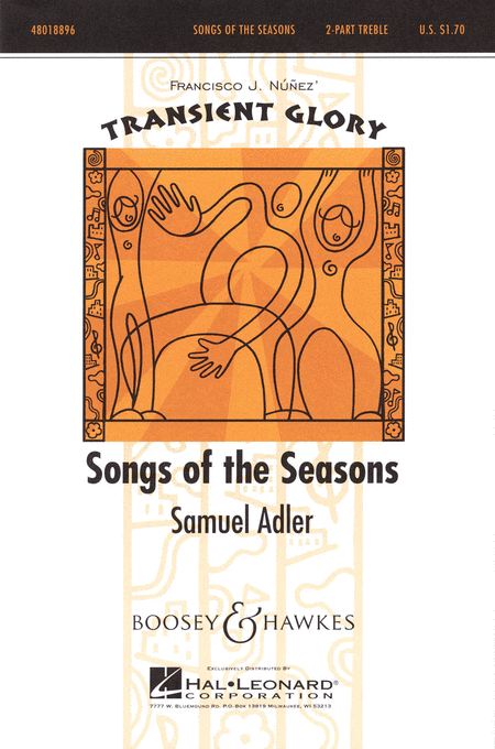 Songs of the Seasons : 2-Part : Samuel Adler : Samuel Adler : Sheet Music : 48018896 : 073999718492