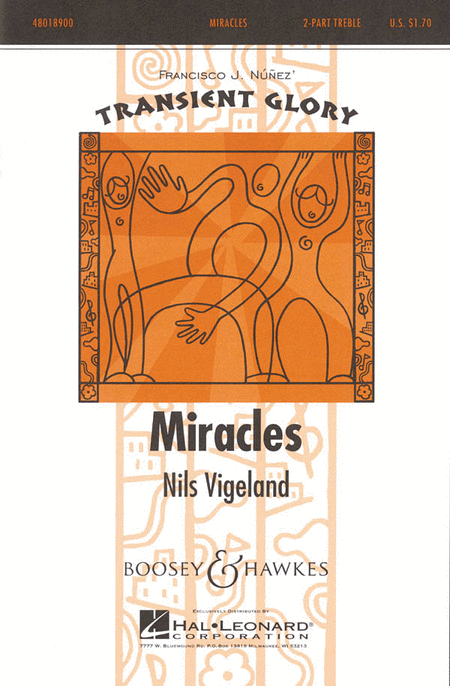Miracles : 2-Part : Nils Vigeland : Nils Vigeland : Sheet Music : 48018900 : 073999731774