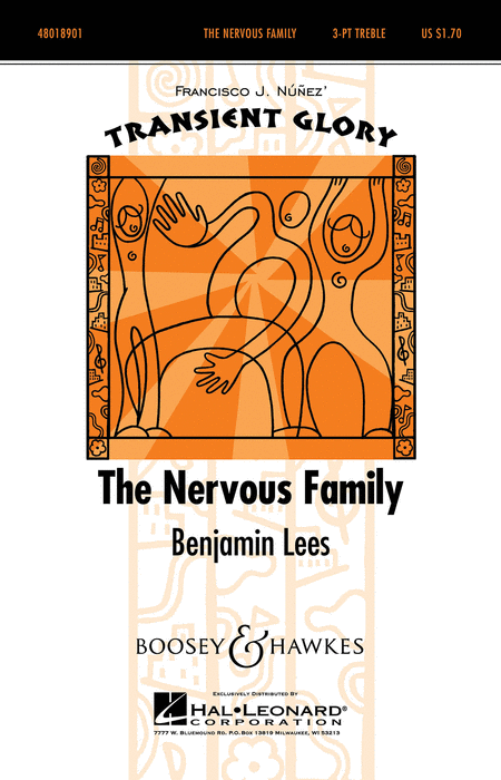The Nervous Family : SSA : Benjamin Lees50498586 : Benjamin Lees50498586 : Sheet Music : 48018901 : 073999545647
