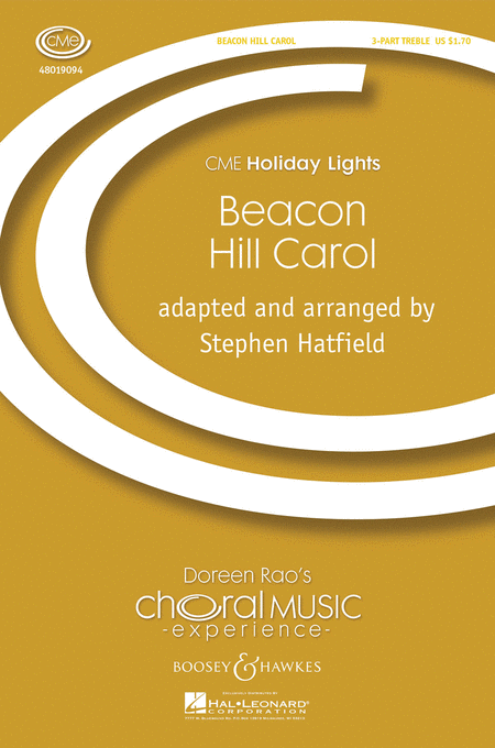 Beacon Hill Carol : SSA : Stephen Hatfield : Sheet Music : 48019094 : 884088013929