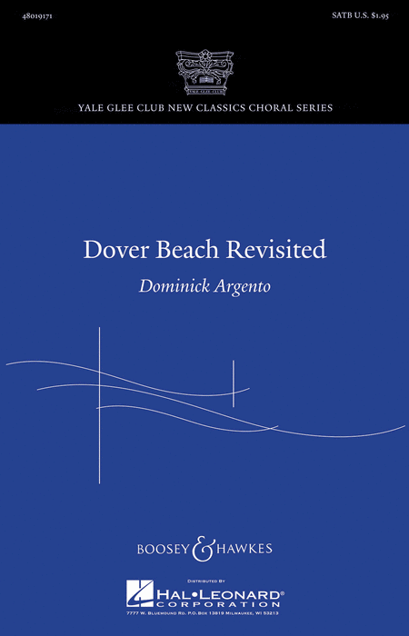 Dover Beach Revisited : SATB : Dominick Argento : Dominick Argento : Sheet Music : 48019171 : 884088074333