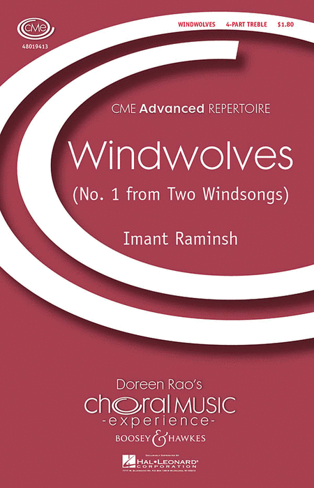 Windwolves : SSAA : Imant Raminsh : Sheet Music : 48019413 : 884088133948