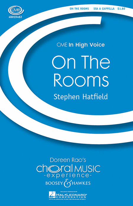On The Rooms : SSAA : Stephen Hatfield : Sheet Music : 48019482 : 884088156817