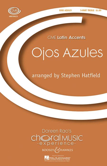 Ojos Azules : SSA : Stephen Hatfield : Sheet Music : 48019623 : 884088168094
