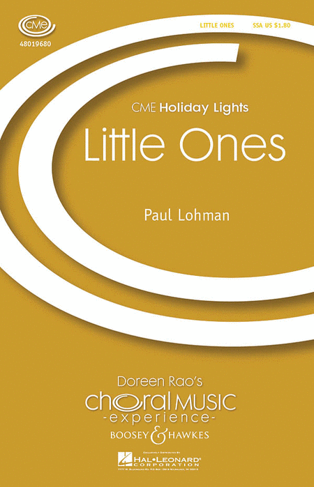 Little Ones : SSA : Paul Lohman : Paul Lohman : Sheet Music : 48019680 : 884088208226