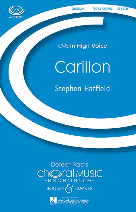 Carillon : SSAA : Stephen Hatfield : Sheet Music : 48019683 : 884088208349