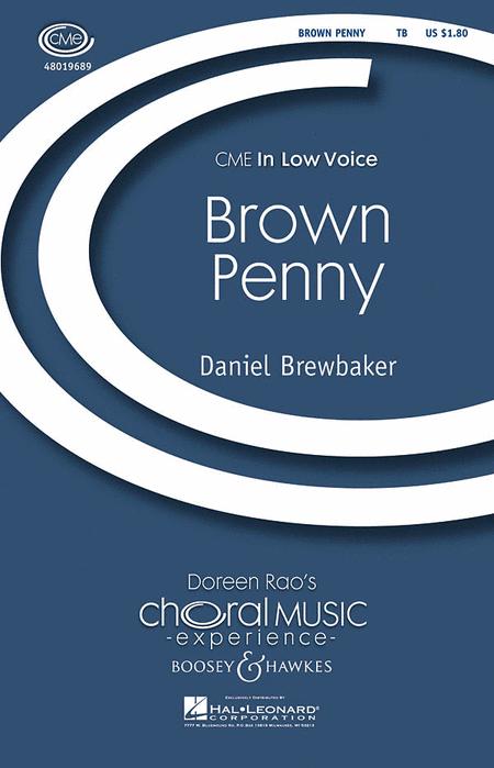Brown Penny : TB : Daniel Brewbaker : Daniel Brewbaker : Sheet Music : 48019689 : 884088208868