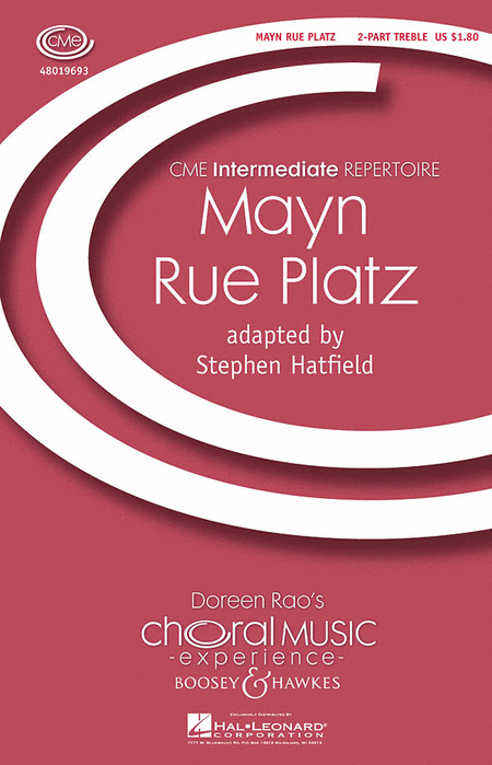 Mayn Rue Platz : 2-Part : Stephen Hatfield : Sheet Music : 48019693 : 884088209056