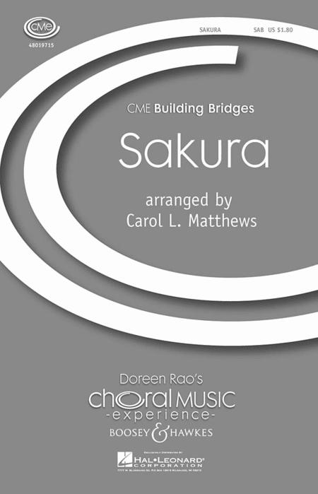 Sakura : SAB : Carol L. Matthews : Sheet Music : 48019715 : 884088216702