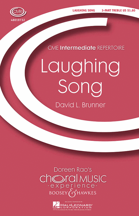Laughing Song : SSA : David Brunner : David Brunner : Sheet Music : 48019732 : 884088223854