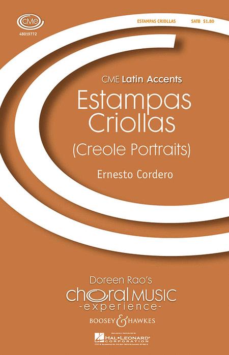 Estampas Criollas : SATB : Ernesto Cordero : Ernesto Cordero : Sheet Music : 48019772 : 884088240882