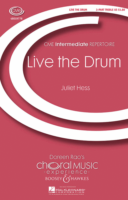 Live the Drum : SSA : Juliet Hess : Juliet Hess : Sheet Music : 48019778 : 884088241766