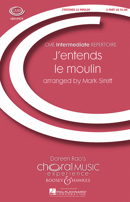 J'entends le moulin : 2-Part : Mark Sirett : Sheet Music : 48019929 : 884088308810