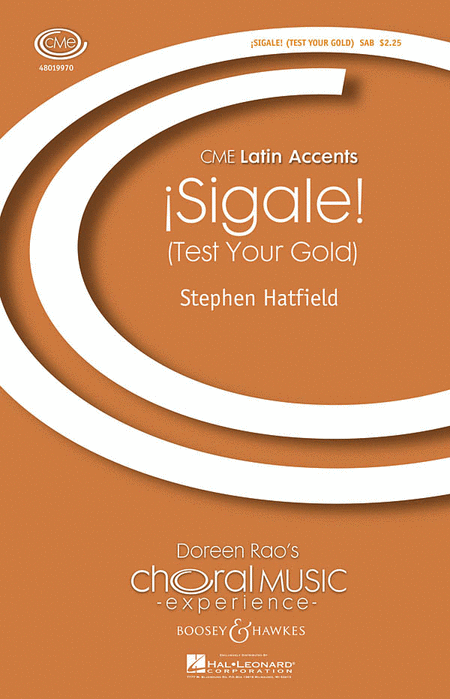 Sigale! : SAB : Stephen Hatfield : Stephen Hatfield : Sheet Music : 48019970 : 884088353339