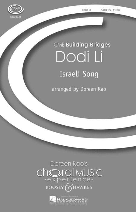Dodi Li : SATB : Doreen Rao : Sheet Music : 48020738 : 884088417727