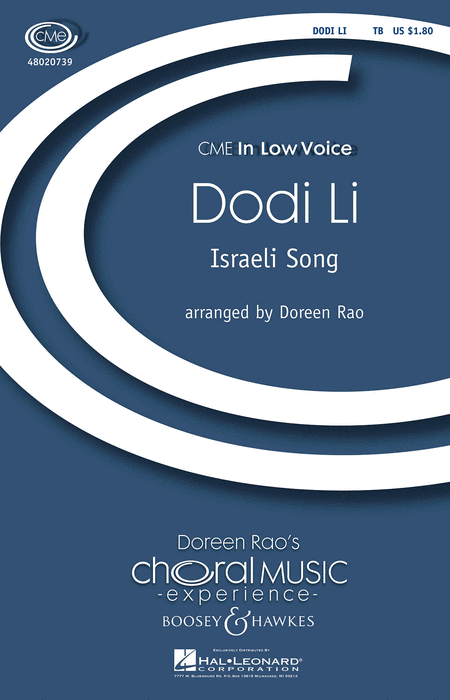 Dodi Li : TB : Doreen Rao : Sheet Music : 48020739 : 884088417734