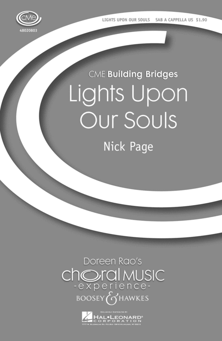 Lights upon Our Souls : SAB : Nick Page : Sheet Music : 48020803 : 884088395698