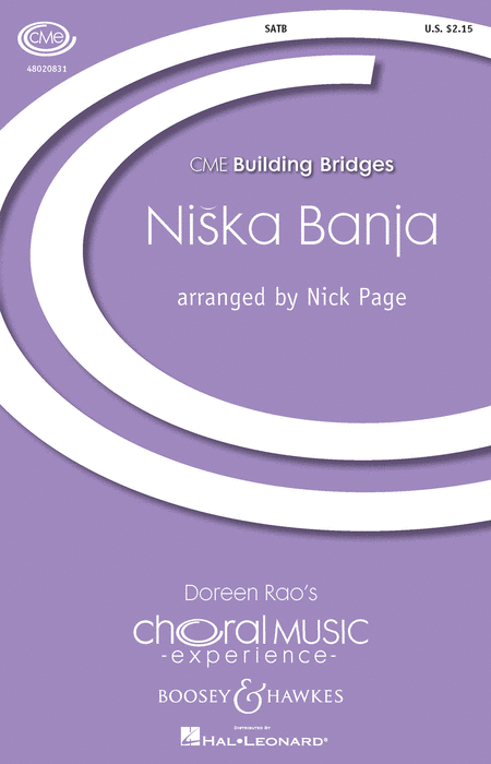 Niska Banja : SATB : Nick Page : Sheet Music : 48020831 : 884088498184 : 1423477006