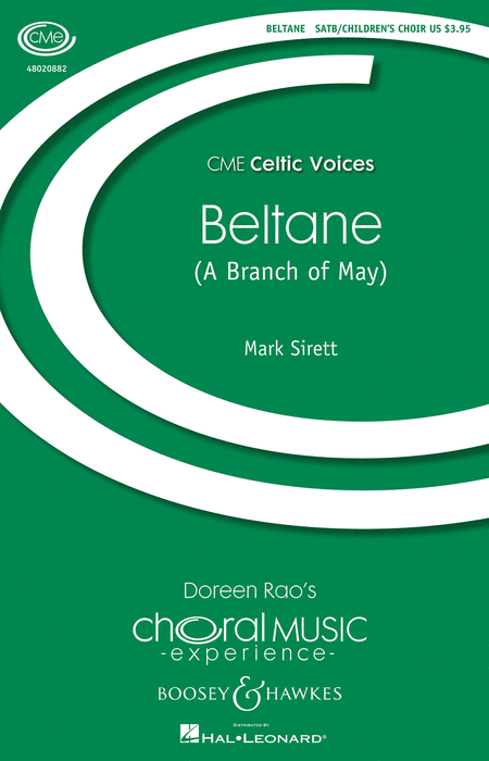 Beltane : SATB : Mark Sirett : Mark Sirett : Sheet Music : 48020882 : 884088509729