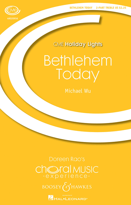 Bethlehem Today : SA : Michael Wu : Michael Wu : Sheet Music : 48020956 : 884088532291