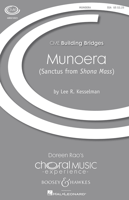 Munoera : SSA : Lee Kesselman : Sheet Music : 48021023 : 884088560218