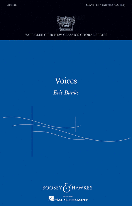 Voices : SSAATTBB : Eric Banks : Eric Banks : Sheet Music : 48021181 : 884088620745