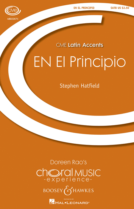 En El Principio : SATB : Stephen Hatfield : Stephen Hatfield : Sheet Music : 48022671 : 884088871161