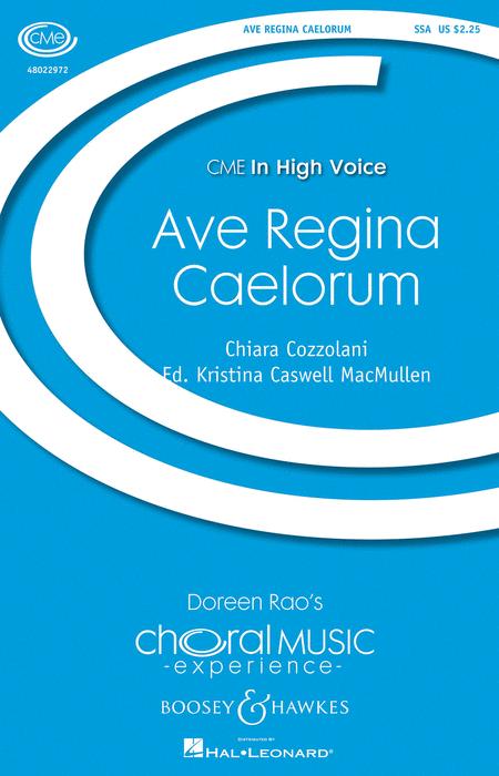 Ave Regina Caelorum : SSA : Kristina MacMullen : Sheet Music : 48022972 : 884088948160