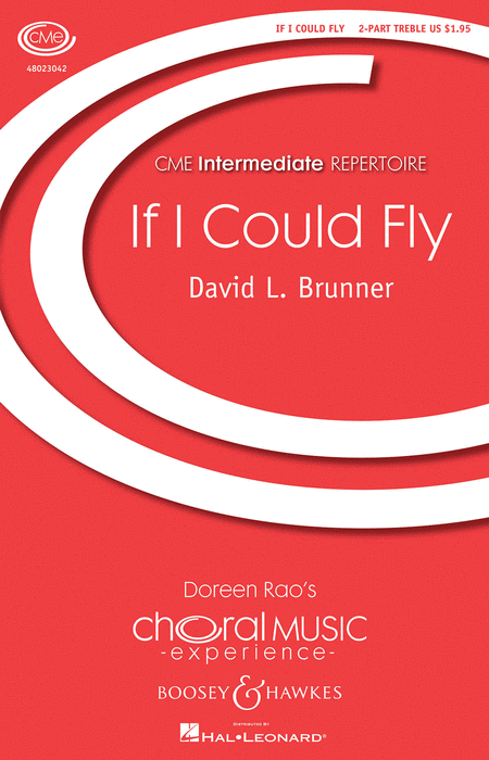 If I Could Fly : SA : David L. Brunner : Sheet Music : 48023042 : 884088959739