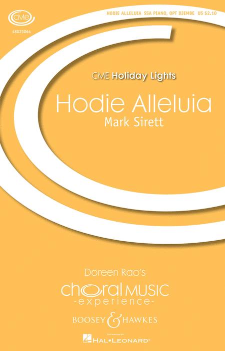 Hodie Alleluia : SSA : Mark Sirett : Mark Sirett : Sheet Music : 48023064 : 884088963514