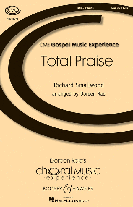 Total Praise : SSA : Doreen Rao : Richard Smallwood : Sheet Music : 48023071 : 884088965099