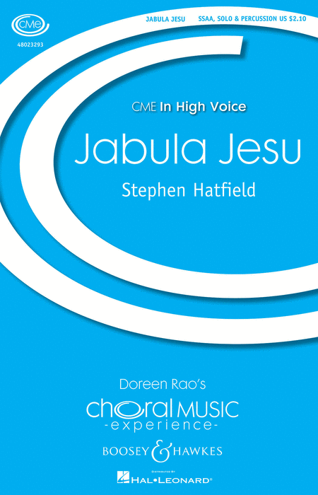 Jabula Jesu : SSAA : Stephen Hatfield : Sheet Music : 48023293 : 888680027254