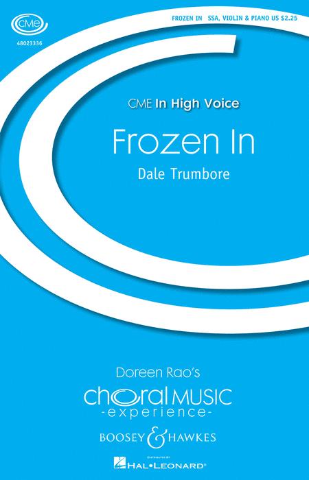 Frozen In : SSA : Kristen Anderson-Lopez : Kristen Anderson-Lopez : Frozen : Sheet Music : 48023336 : 888680033392