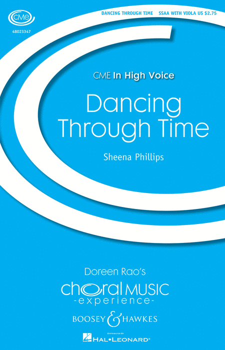Dancing Through Time : SSAA : Sheena Phillips : Sheet Music : 48023347 : 888680036072