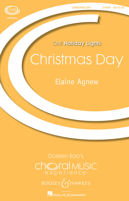 Christmas Day : Unison : Elaine Agnew : Elaine Agnew : Sheet Music : 48023651 : 888680091286