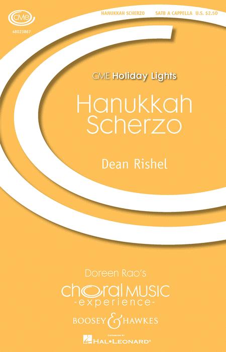 Hanukkah Scherzo : SATB : Dean Rishel : Dean Rishel : Sheet Music : 48023867 : 888680637521