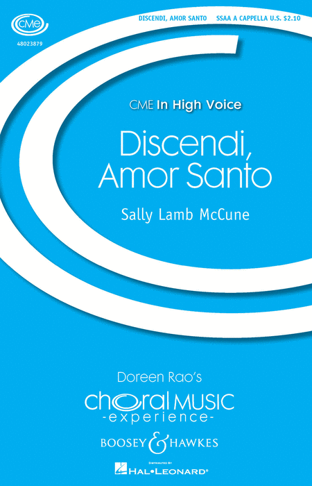 Discendi, Amor Santo : SSAA : Sally Lamb McCune : Sally Lamb McCune : Sheet Music : 48023879 : 888680638689