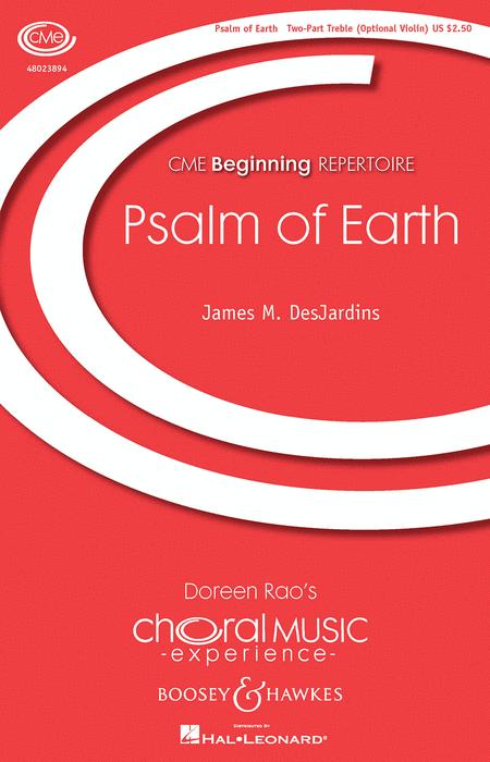 Psalm Of Earth : SA : James M. DesJardins : Sheet Music : 48023894 : 888680640170
