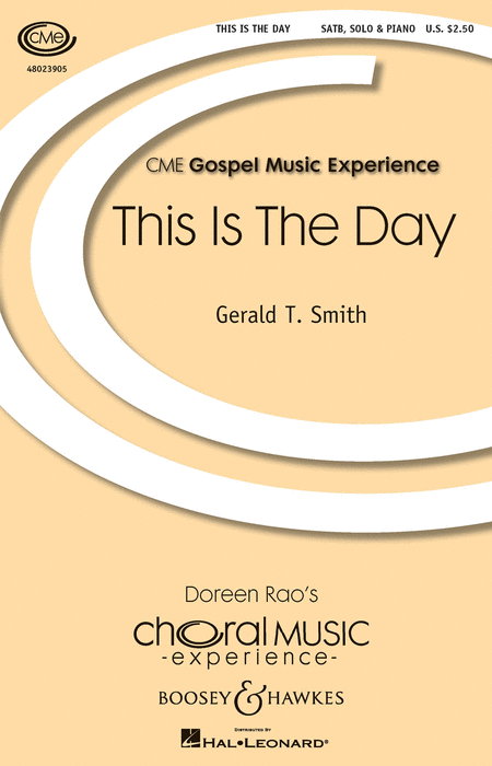 This Is the Day : SATB : Gerald Smith : Gerald Smith : Sheet Music : 48023905 : 888680641764