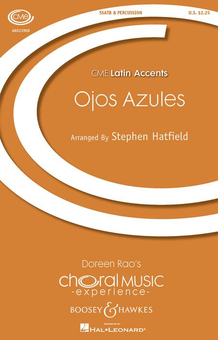 Ojos Azules : SATB : Stephen Hatfield : Sheet Music : 48023908 : 888680642532