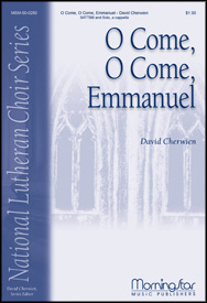O Come, O Come, Emmanuel : SATB divisi : David Cherwien : David Cherwien : Sheet Music : 50-0250