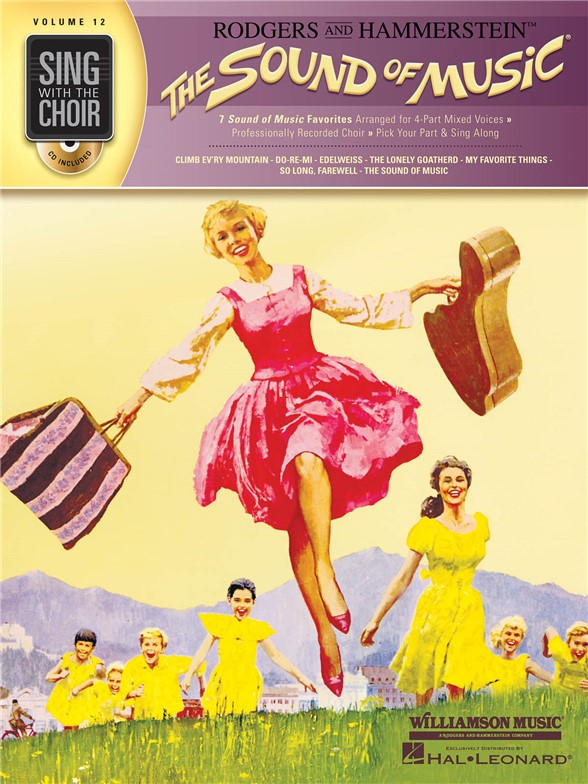 "Sing With The Choir : <span style=""color:red;"">The Sound Of Music</span> : Solo : Songbook & CD : 884088409951 : 1423483162 : 00333019"